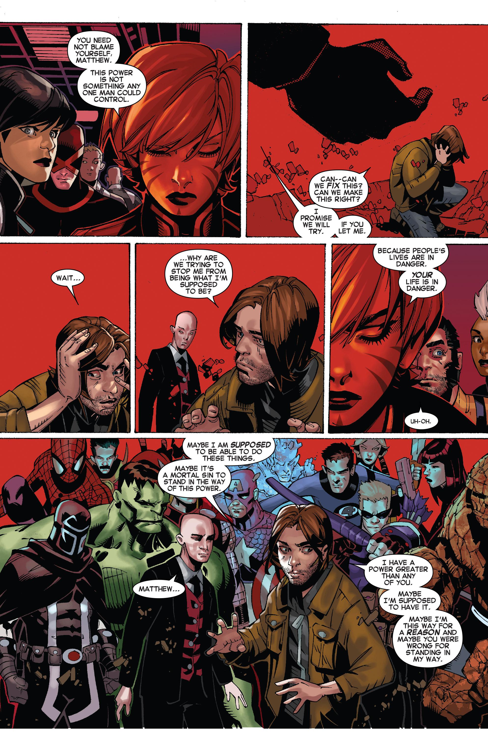 Read online Uncanny X-Men (2013) comic -  Issue # _TPB 5 - The Omega Mutant - 26