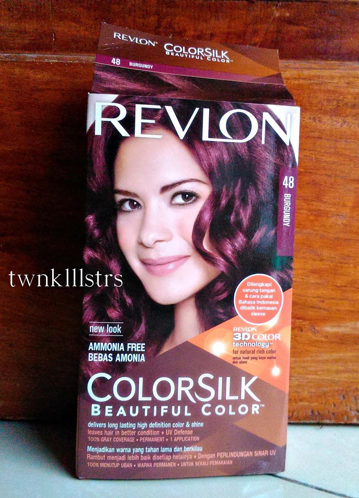 Revlon Colorsilk No 48 Burgundy Hair Color Review Fuji Astyanis Blog