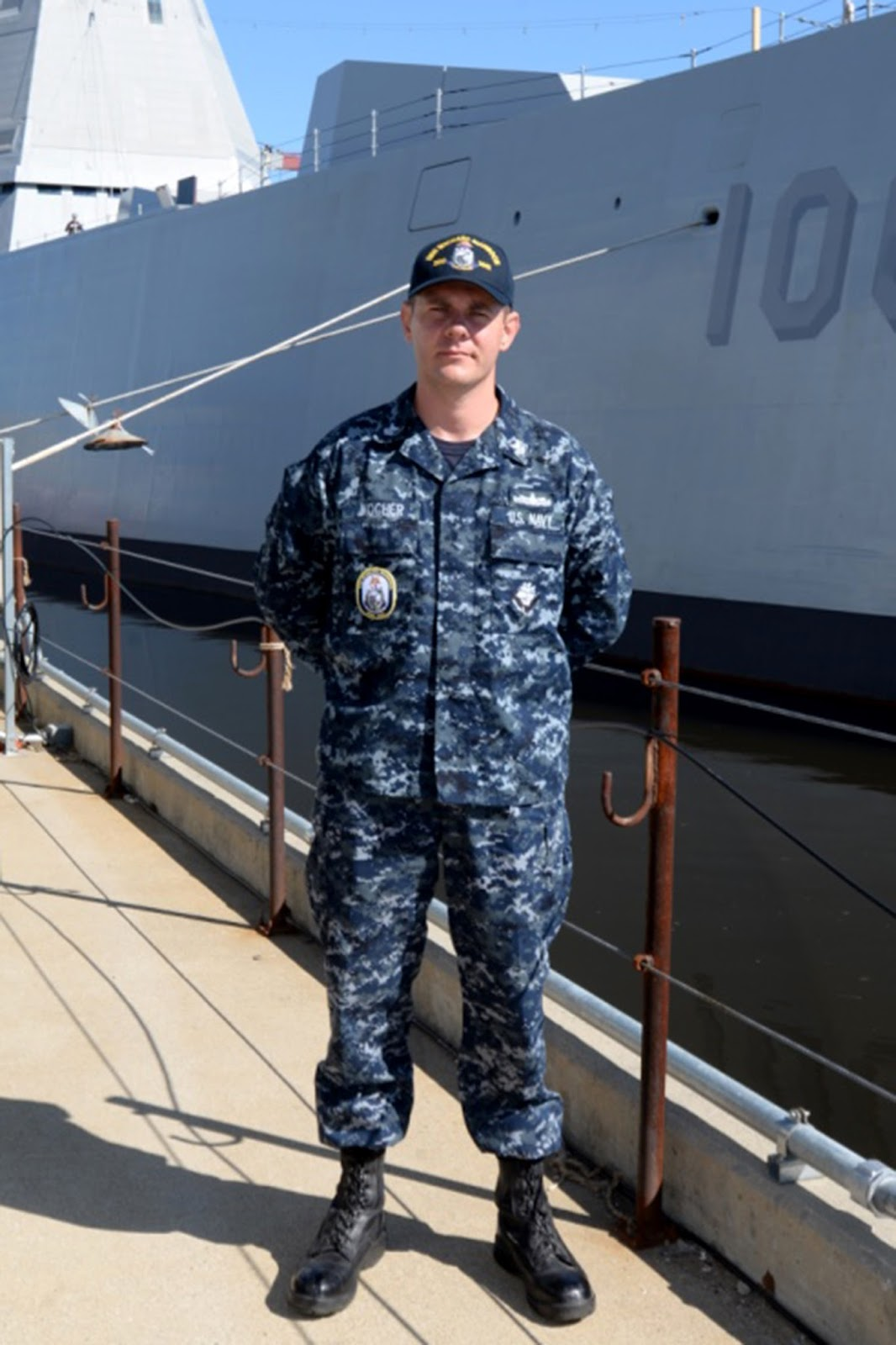 "Lansing, Ill. native serves aboard one of the U.S. Navy's ""Stealth ..."