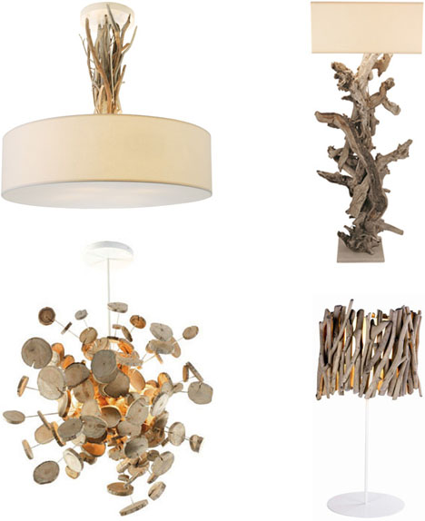 I really love these l&s made of driftwood. It is as if these designers set an insane challenge for themselves see just how many there are to craft pieces ...  sc 1 st  ByElisabethNL & ByElisabethNL: Lamps u0026 Lighting Designs from Driftwood