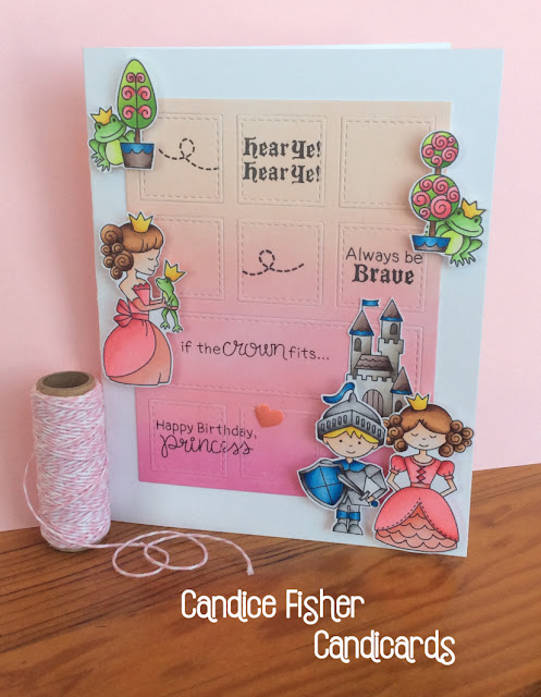 Happy Birthday Princess by Candice features Knight's Quest and Once Upon a Princess by Newton's Nook Designs; #newtonsnook