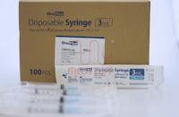 Syringe 3cc / Jarum Suntik 3cc / Spuit 3cc Onemed