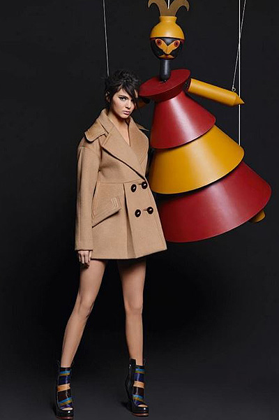 Kendall Jenner for Fendi