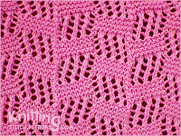 Tilted Block knitting pattern.