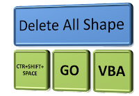 How To Delete All Shape In Excel