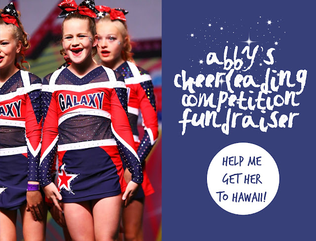 Cheerleading competition in Hawaii - here we come!