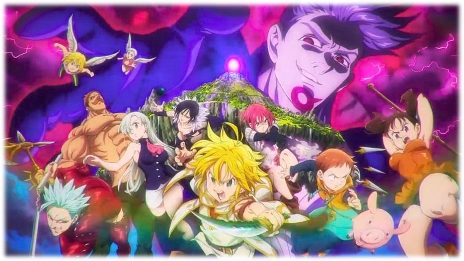 los 7 pecados capitales anime yt
