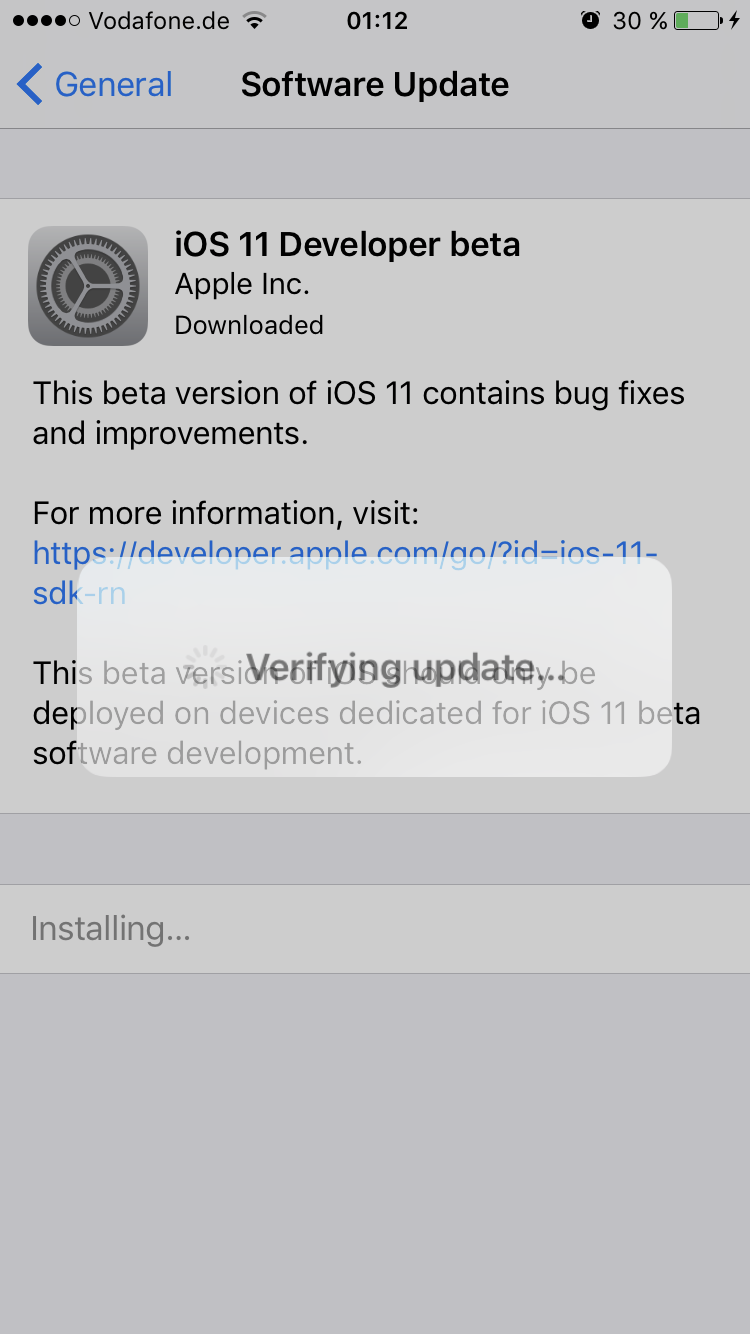چۆنییەتی داگرتنی وەشانی تاقیکاری iOS 11 بۆ ئایفۆن و ئایپاد و ئایپود