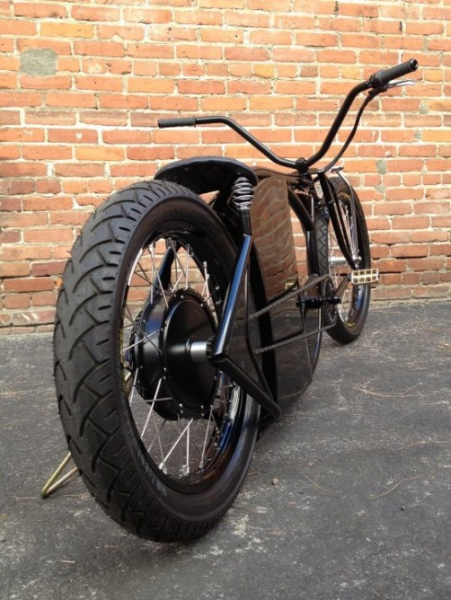 marrs m1 la primera bicicleta el ctrica chopper forococheselectricos. Black Bedroom Furniture Sets. Home Design Ideas