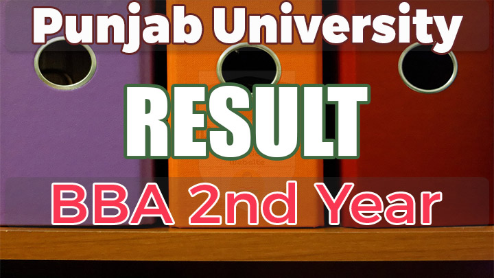 BBA Hons 2nd Year Result 2017 Punjab University