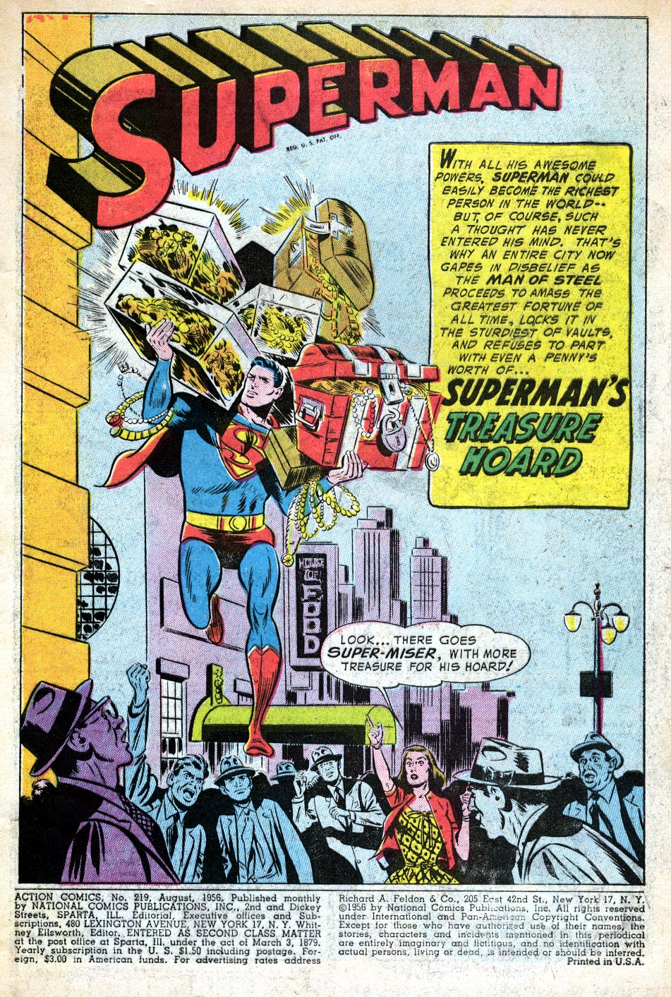 Read online Action Comics (1938) comic -  Issue #219 - 3