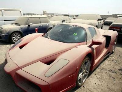 Що можна побачити на звалищі авто в Арабських Еміратах