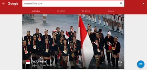 Hasil Pencarian Indonesia Olimpiade Rio de Janeiro 2016