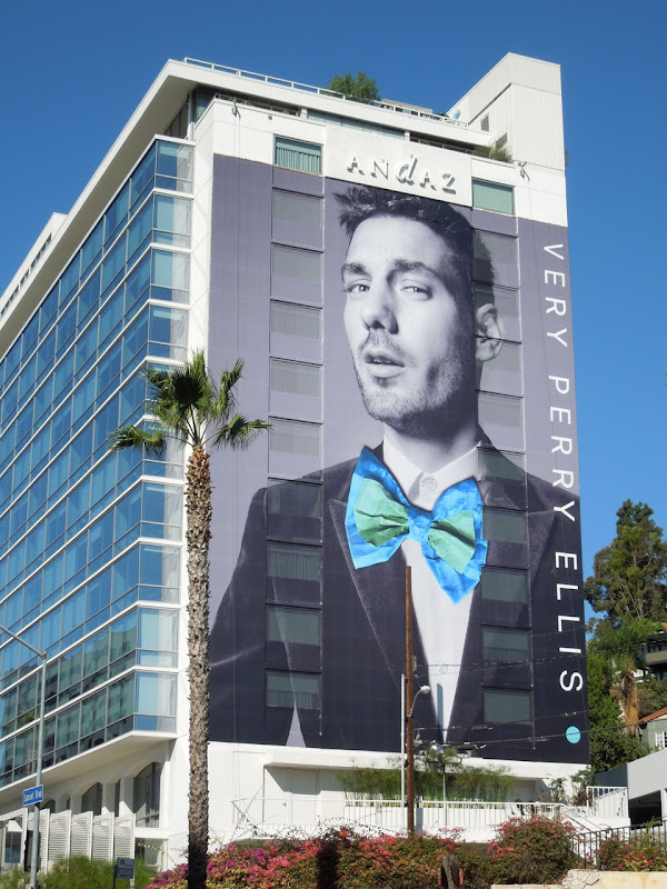 Giant Very Perry Ellis 2012 billboard Sunset Strip