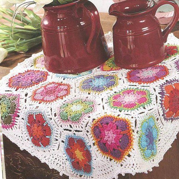 Patrón #1289: Carpeta con Flores.