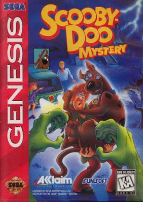 Rom de Scooby Doo Mystery - Mega Drive - PT-BR