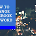 How to Change My Facebook Password