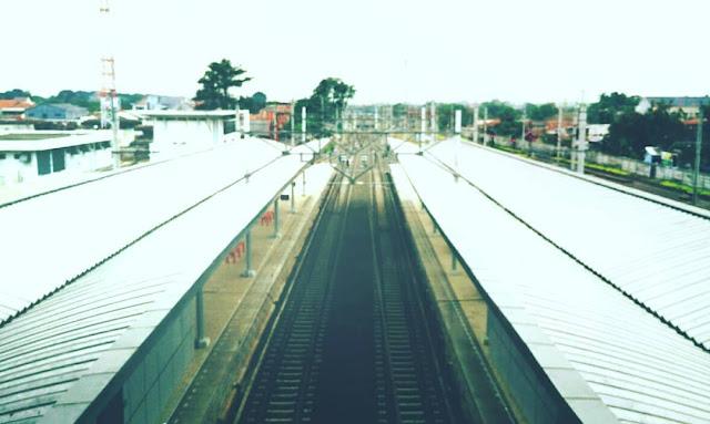 Gimana Sih Stasiun Cikarang Sekarang ?