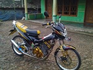 Gambar Modifikasi Motor Suzuki Satria FU