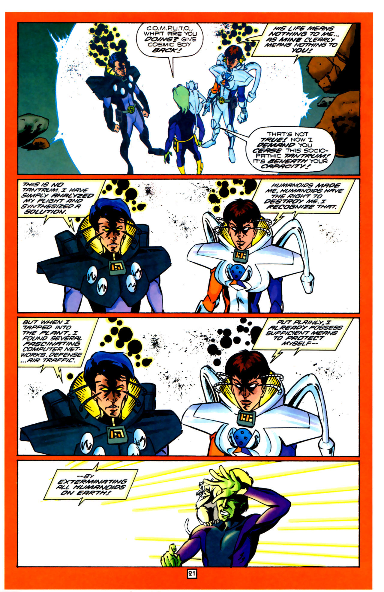Legion of Super-Heroes (1989) 99 Page 21