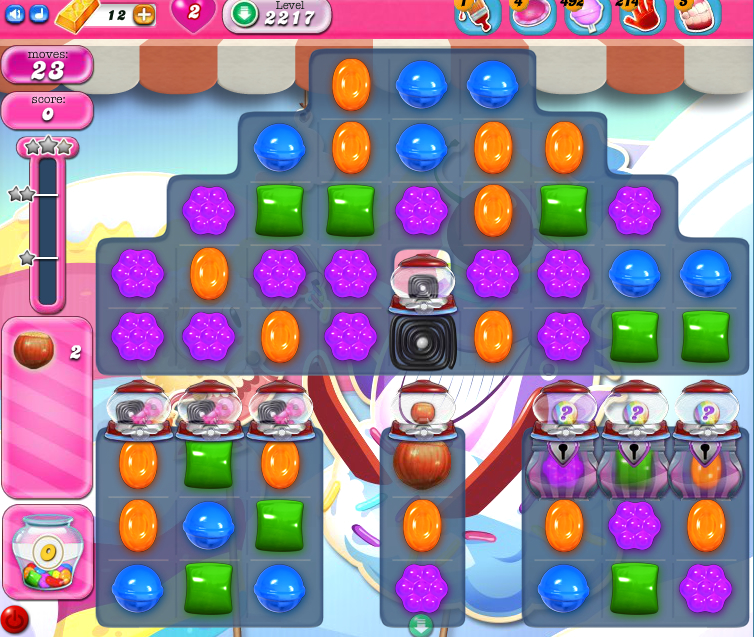 Candy Crush Saga level 2217