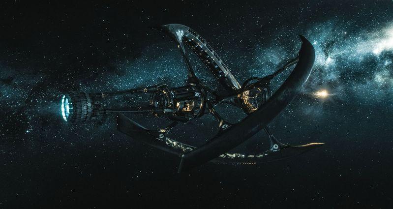 vaisseau spatial du film Passengers