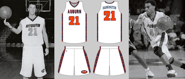 auburn basketball uniforms 2000 2001