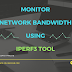 How to use iperf3 tool to monitor network bandwidth in Linux