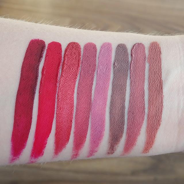 Deborah Fluid Velvet Mat Lipstick matowa pomadka w płynie 16, 07, 51, 08, 17, 13, 02, 01
