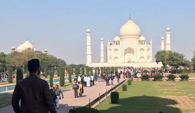 Taj Mahal Agra Seven Wonders Tourism Travel Blog