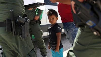 Child, border of Mexico