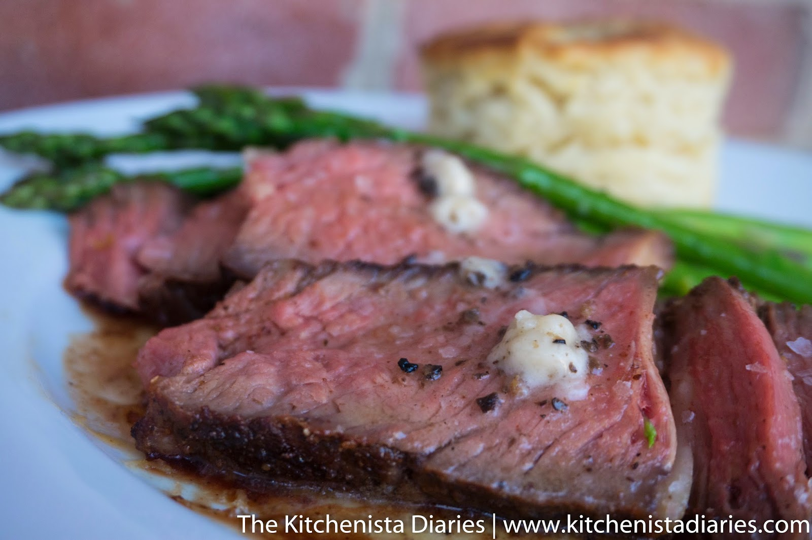 Truffle Butter Rib Eye Steak Reverse Sear Method The