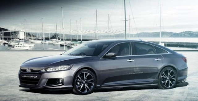 Honda Ready to Permit Accord, There's a 10 Speed Transmission
