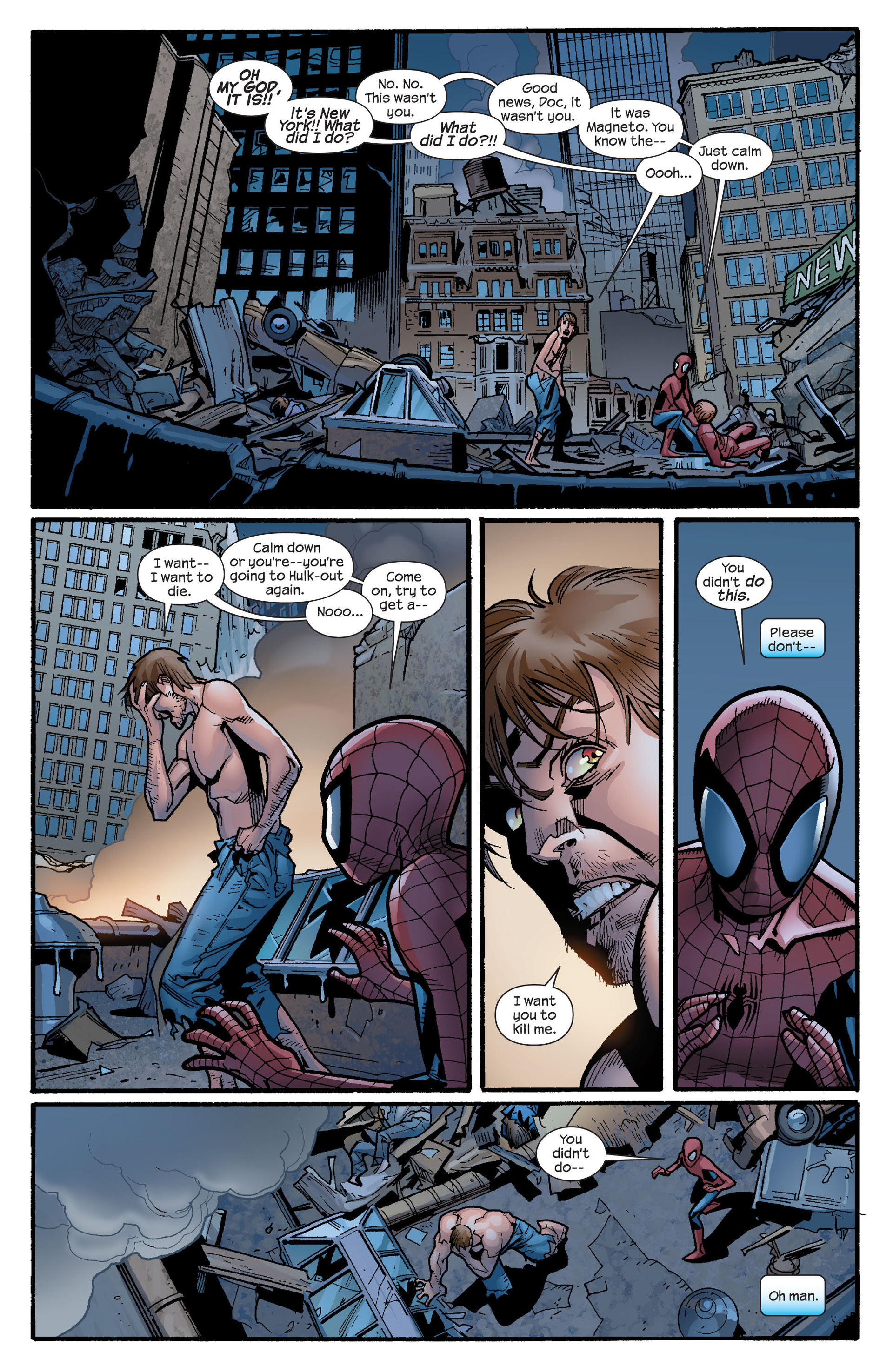 Read online Ultimate Spider-Man (2000) comic -  Issue #131 - 16