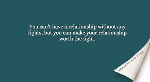 a relationship without fighting quotes boyfriend