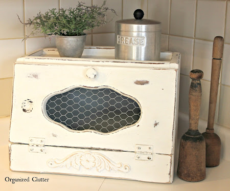 Thrift Shop Breadbox Makeover