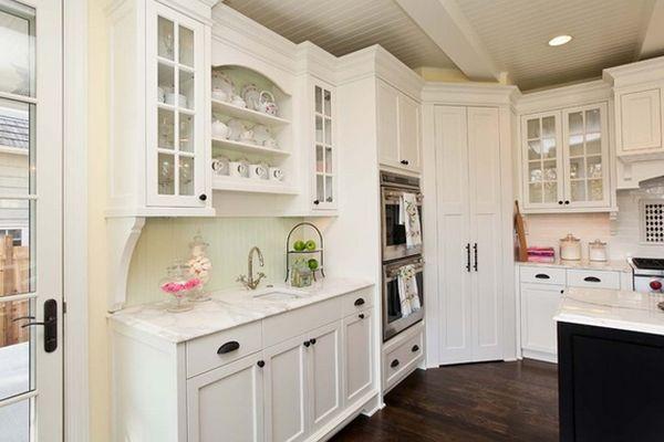 زواية مطبخ كحجرة مغلقة
