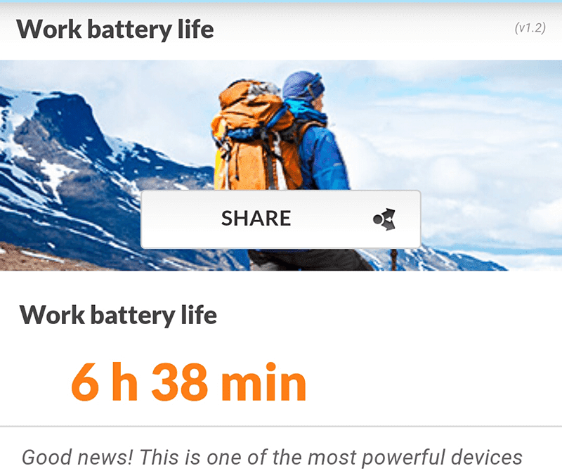 ZenFone Zoom battery life