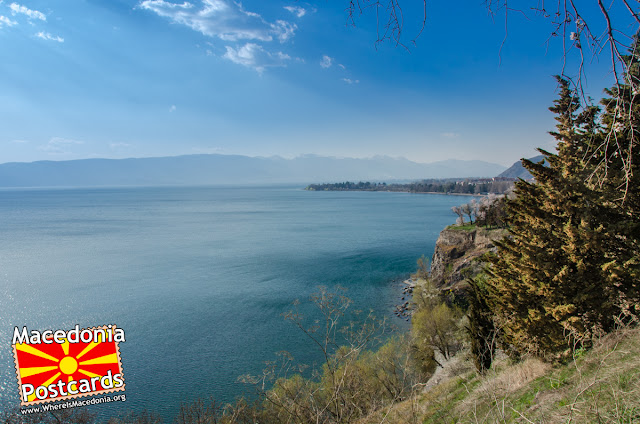 View toward Ohrid Lake