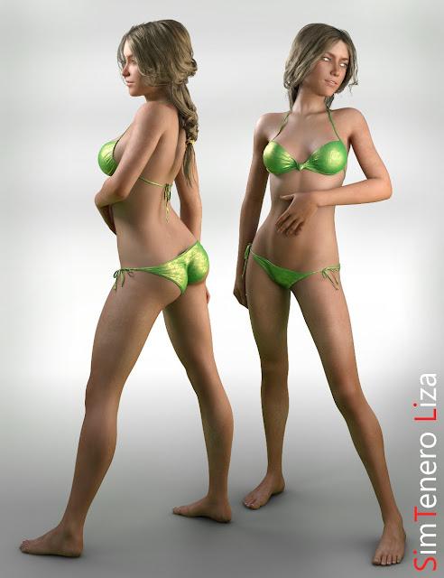 SimTenero Liza for Genesis 3 Female