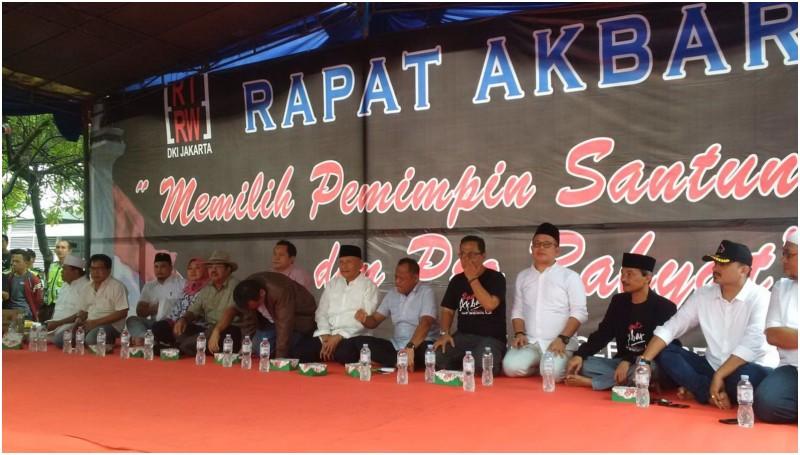 Rapat Akbar Forum RT RW Memilih Pemimpin Santun dan Pro Rakyat