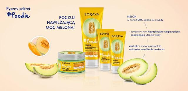 Soraya foodie supernawilżający sorbet do ciała melon