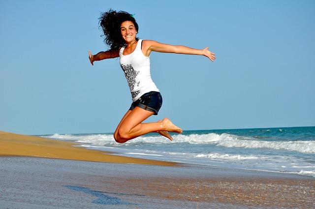 Menstrual period happiness