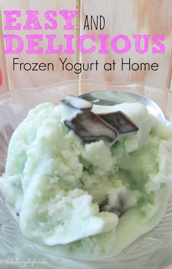 how to make your own frozen yogurt