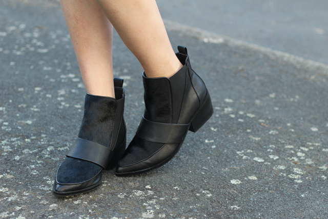 pony skin boots asos