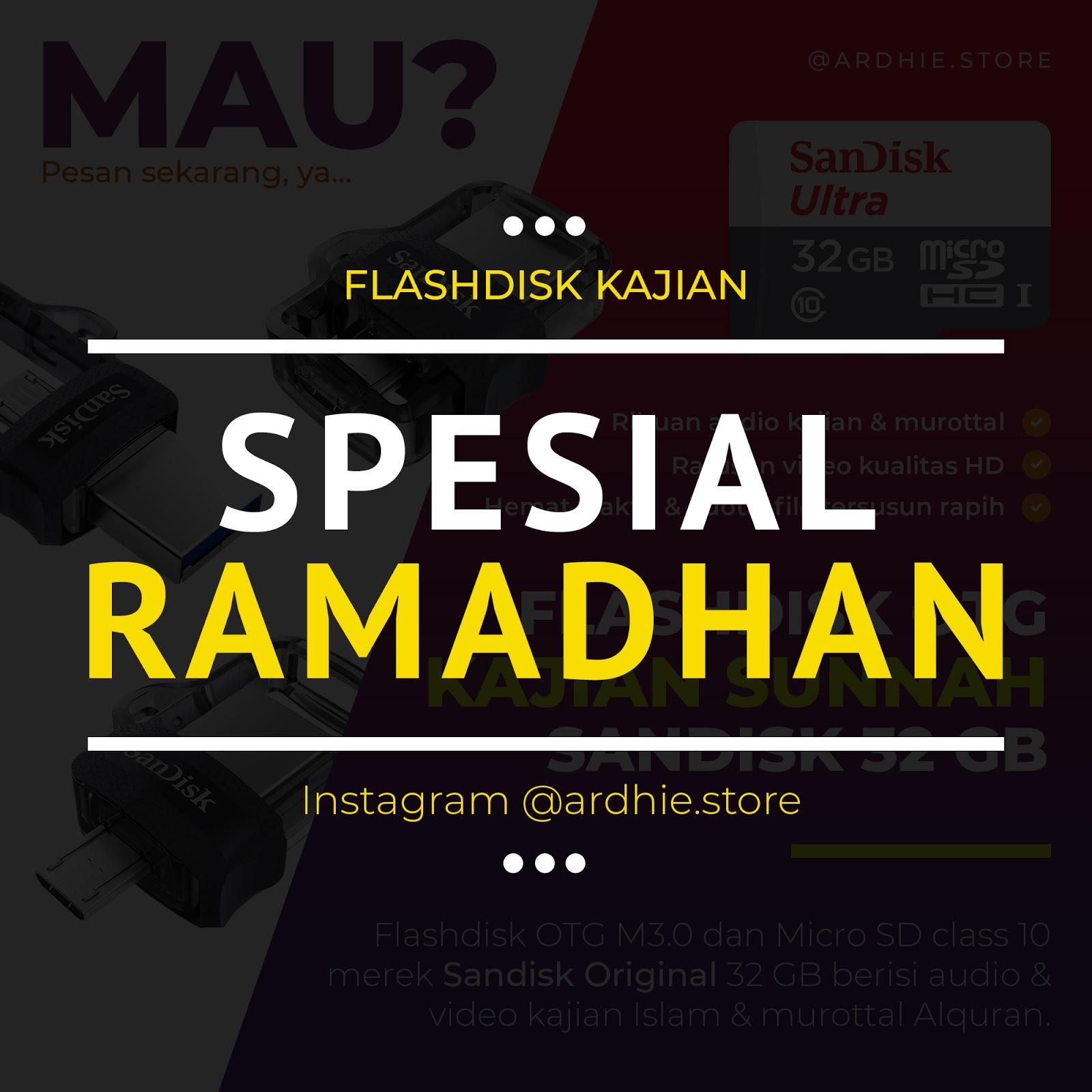 Flashdisk Kajian & Murottal