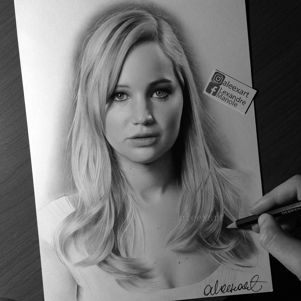 06-Jennifer-Lawrence-Alex-Manole-Black-and-White-Hyper-Realistic-Portraits-of-Celebrities-www-designstack-co