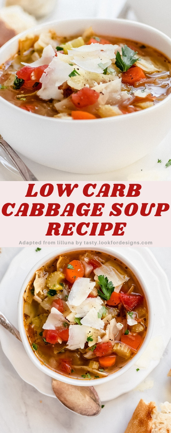 Low Carb Cabbage Soup Recipe