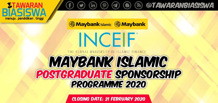 Tawaran Biasiswa Lepasan Ijazah Maybank Islamic