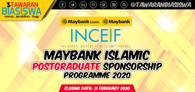 Tawaran Biasiswa Lepasan Ijazah Maybank Islamic 2020